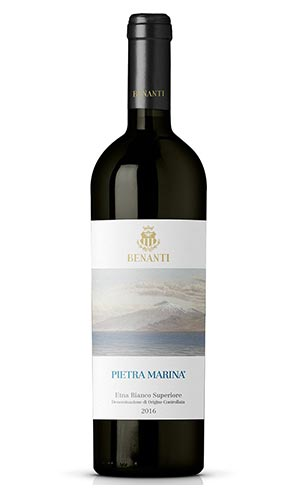 1st CLASSIFIEDEtna Doc Bianco Superiore Pietra Marina 2016 – Benanti