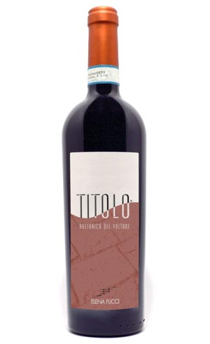 2nd CLASSIFIEDAglianico del Vulture Doc Titolo by Amphora 2017 – Elena Fucci